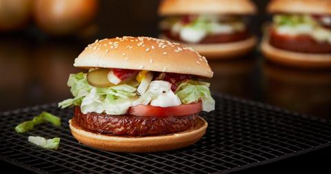 McVegan först ut när McDonald's väljer vegoburgare från Anamma