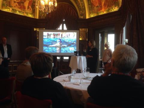 Varmt mottagande för presentationen av SM-veckan i Skellefteå 2018