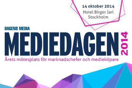 Mediedagen 2014 Stockholm