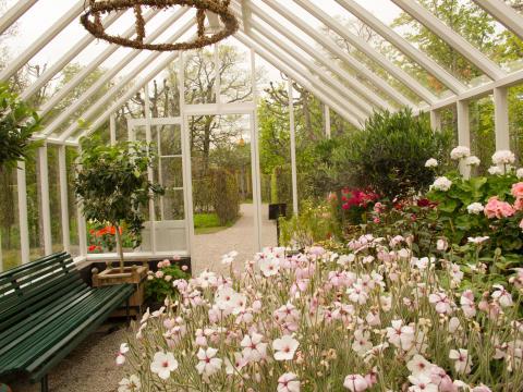 Växthus på drottningholms slott