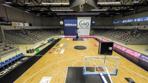 Sportsgylve, tribuner - Arena Næstved