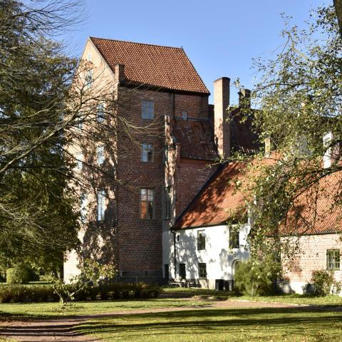Bäckaskogs slott och kungsgård, exteriör