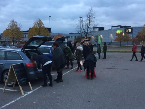 Sverigepremiär för matnyttiga succékonceptet REKO