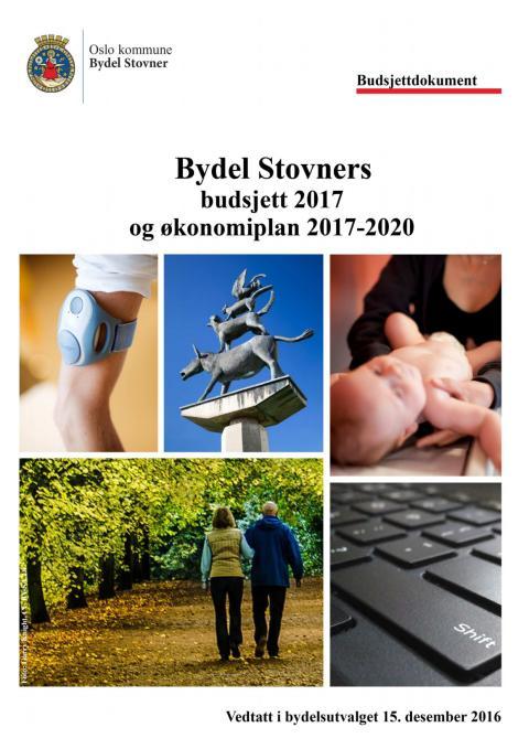 Budsjett Bydel Stovner 2017