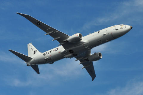 New P8 maritime patrol aircraft to be based at RAF Lossiemouth