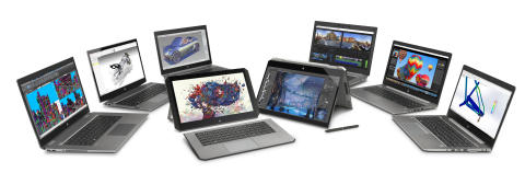 HP ZBook Mobile Workstation Family Photo