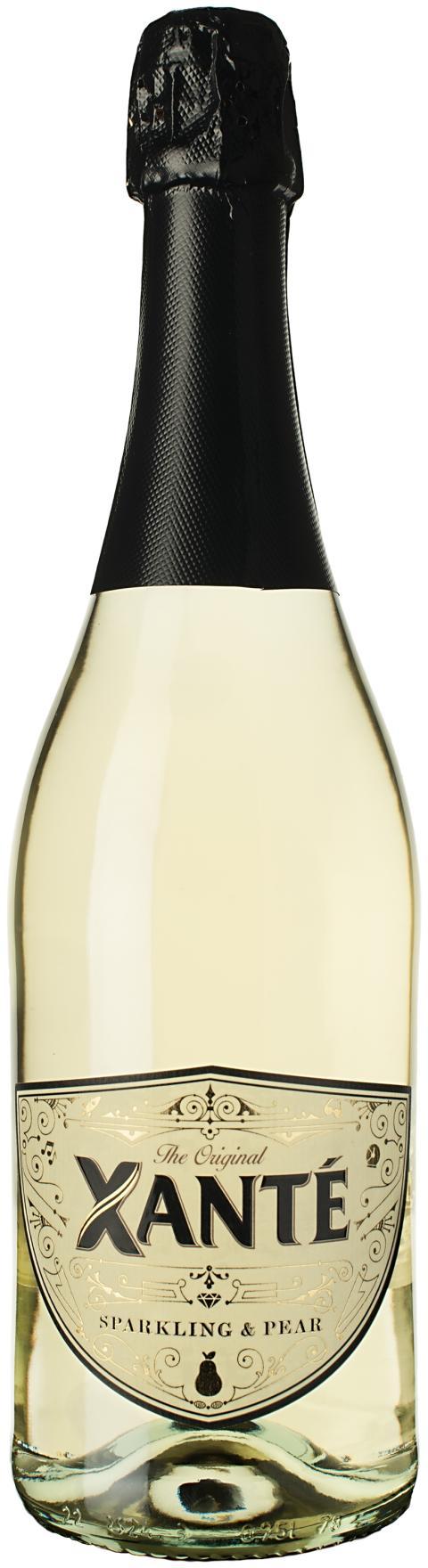 Xanté Sparkling & Pear, flaskbild