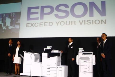 Epson launches breakthrough high-speed linehead inkjet Multi-Function Printer for enterprises