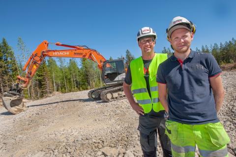 Örnsköldsviksborna Ronnie Andersson och Nicklas Holmgren startade eget och har fått en kanonstart.