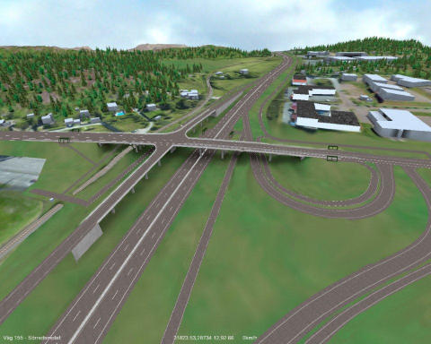 Veidekke bygger ny trafikplats i Göteborg