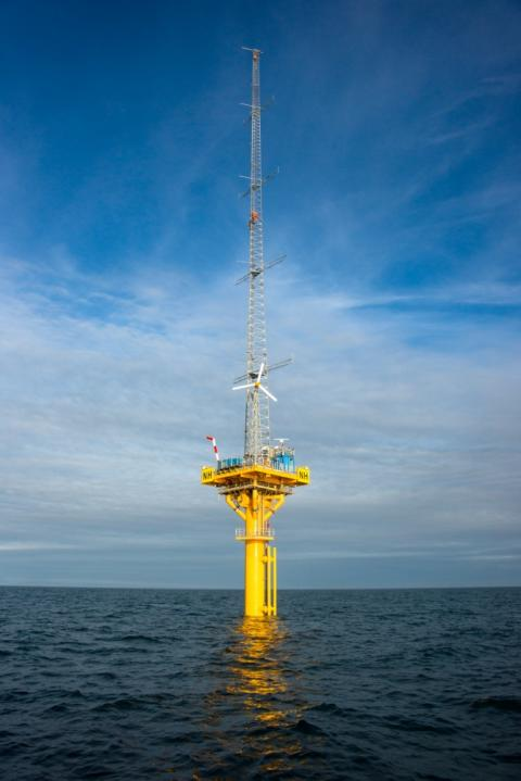 RES extends Operations and Maintenance Contract for offshore renewable energy Catapult met mast