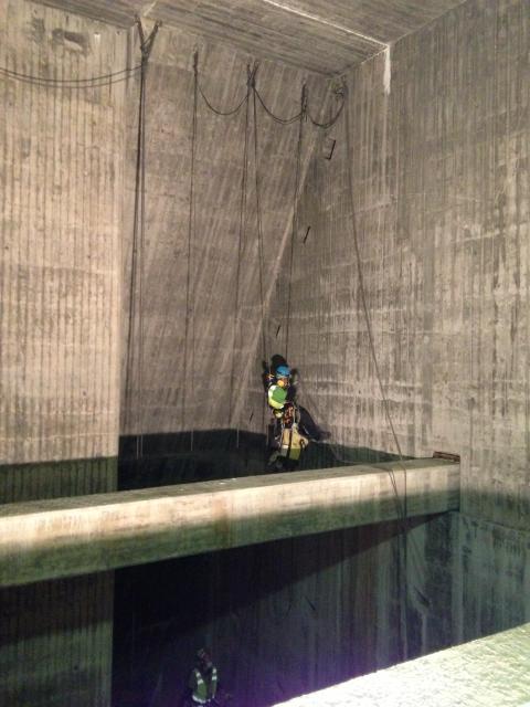 Inspektion vattenkraftverk