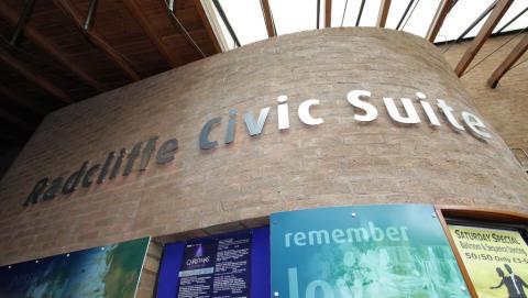 Festive events at Radcliffe Civic Suite