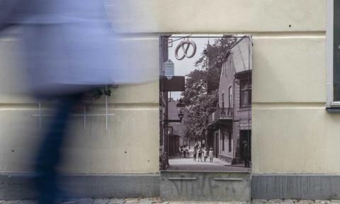 Se det gamla Helsingborg på stadens elskåp