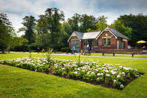 Queen's Park in Heywood