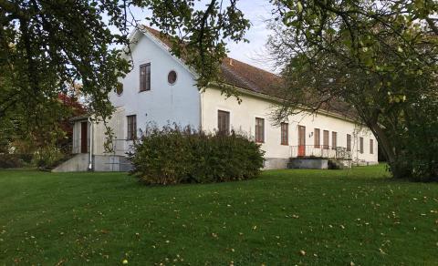 Lindbergs prästgård placerad på Gula listan