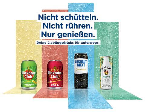 Neues Ready-to-Drink Portfolio von Pernod Ricard Deutschland