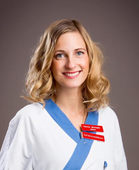 Hanna Montelin, infektionsläkare Akademiska sjukhuset