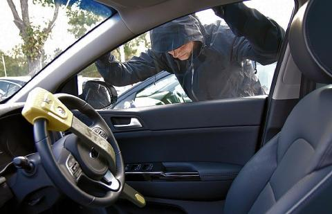 Nearly a quarter of a million cars broken into in 2016