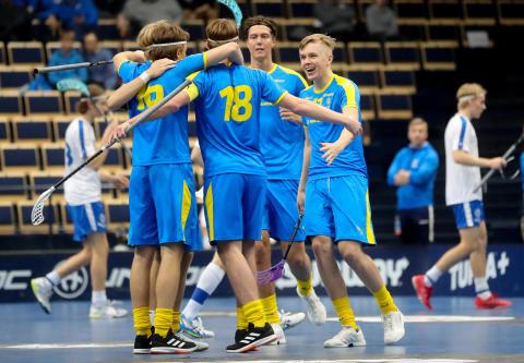 U19-herrlandslaget vann mot Finland - tog hem hela Euro Floorball Tour