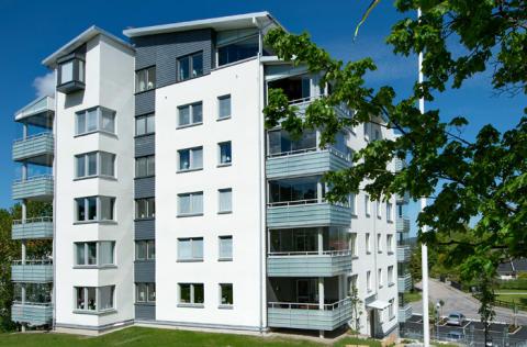 Weber tar funktionsansvar för fasader renoverade med Serporoc