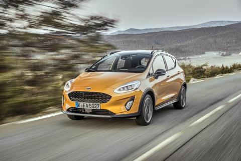 Der neue Ford Fiesta Active: das erste Mitglied einer neuen Crossover-Modellfamilie