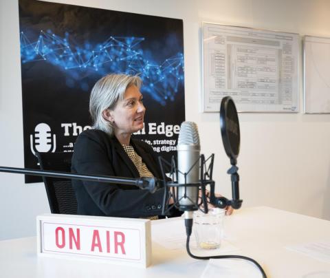 """The Digital Edge: Christine Hunderup, CDO hos Velliv tester konstant nye ideer: """"Vi sender ud klokken 10, og klokken 14 har vi 150 svar fra rigtige kunder"""""""