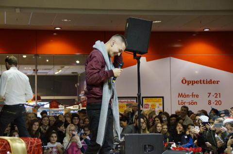 Årets Idolvinnare Liam Cacatian Thomassen