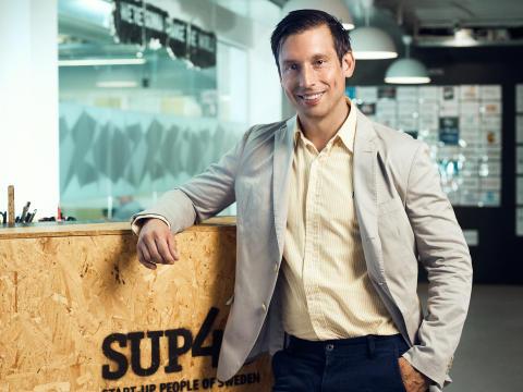 Daniel Sonesson - new CEO at SUP46
