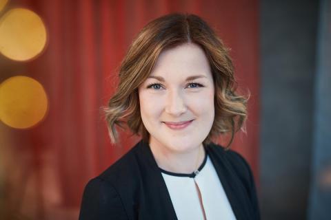 Carolina Axelsson med på listan över ledarförebilder