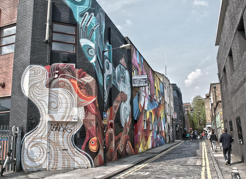 Shoreditch i London