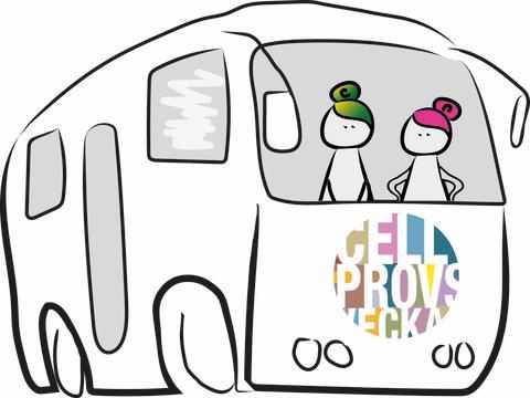 Cellprovsbussen på besök i Skåne