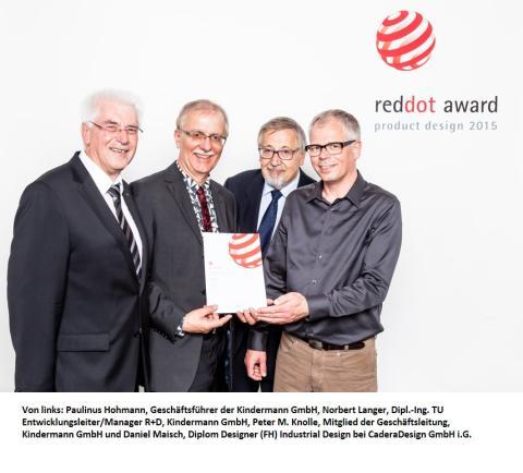 Red Dot Design Award für die Kindermann GmbH