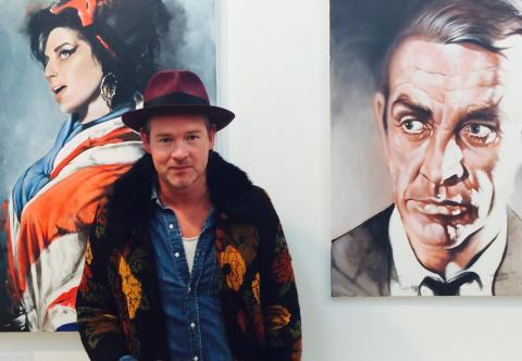 Utställning på Ulfsunda Slott med konst från Peter Eugén