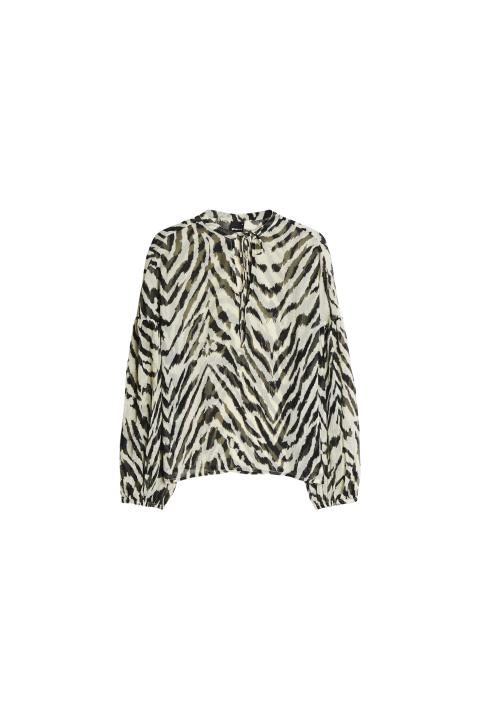 Gina Tricot 249 SEK 24.95 EUR 199 DKK Belinda blouse Zebra v.18