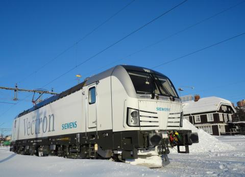 Siemens levererar lok till VR Group i Finland till ett värde av drygt 2,6 miljarder kronor