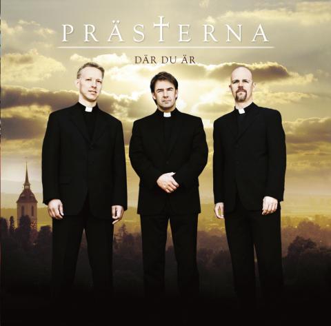 Tre svenska Präster släpper album