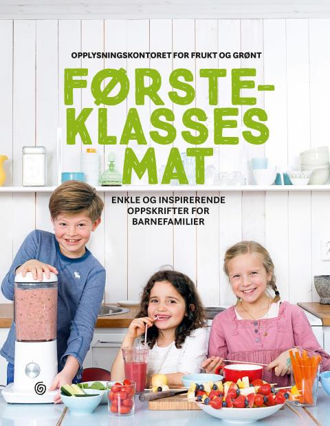 Boken Førsteklasses mat er i disse dager på vei til en skole nær deg.