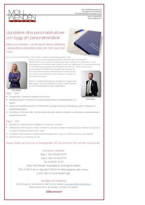 Uppdatera dina personalstrukturer och bygg din personalhandbok