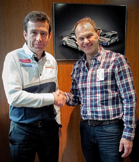 Peugeot kör VM i rallycross med Hansen Motorsport