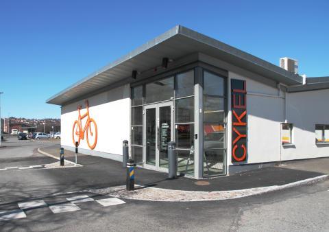 Öppet hus i cykelgaraget vid resecentrum