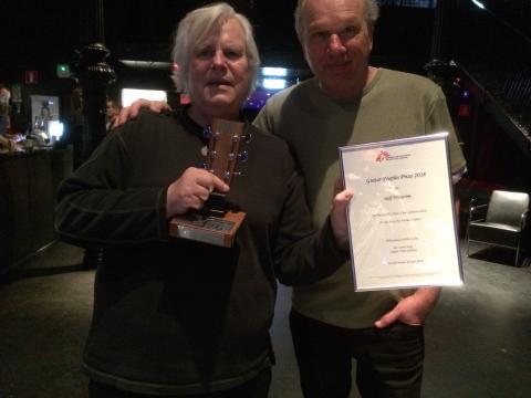 Guitar People's Prize 2018 - Nya lysande stjärnskott  mötte rutinerade världsartister