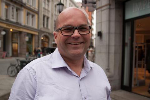 Styreleder i Oslo Pride Stein Runar Østigaard