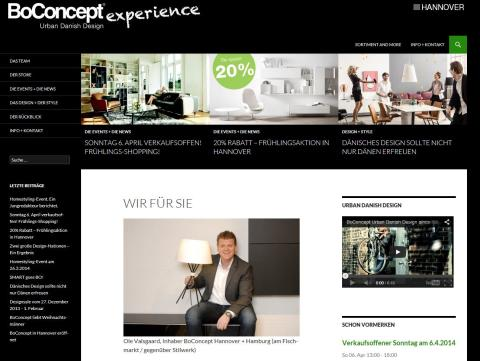 BoConcept Hannover steht für erstklassiges dänisches Möbel-Design