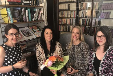 Prisbelönta författaren Maria Sveland till HarperCollins Nordic