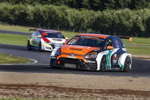 Andreas Ahlberg, Micke Kågered Racing. Foto: Tony Welam/STCC