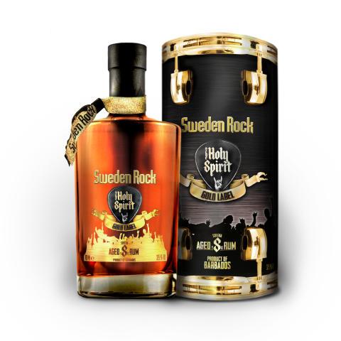 Holy Spirit of Sweden Rock Gold Label Rhum
