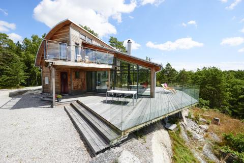 Rörvikshus byggde ÅRETS HUS 2016