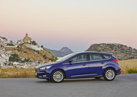 Uusi Ford Focus 5-ovinen
