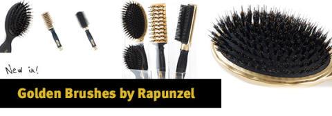 Golden Brushes by Rapunzel